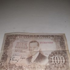 Billetes españoles: BILLETE 100 PESETAS DEL 1953. Lote 194490030