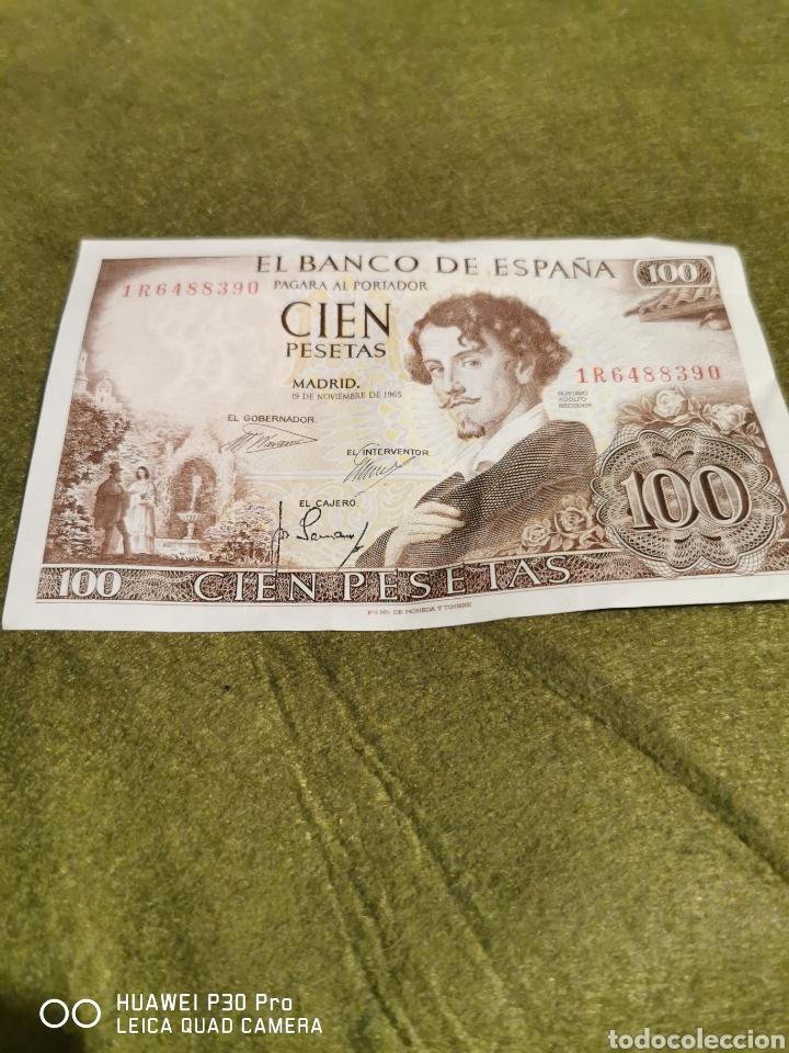 BILLETE CIEN PESETAS AÑO 1965 SIN CIRCULAR (Numismática - Notafilia - Billetes Españoles)
