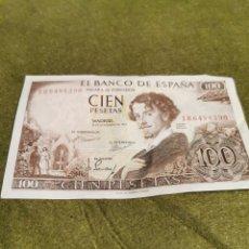 Billetes españoles: BILLETE CIEN PESETAS AÑO 1965 SIN CIRCULAR. Lote 194525746