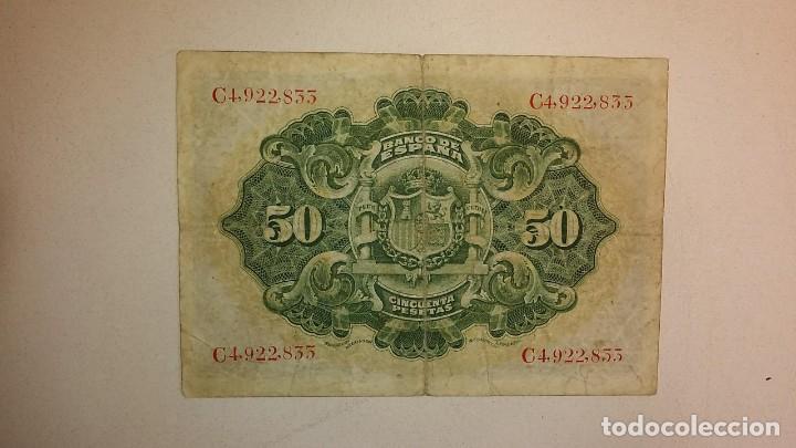 Billetes españoles: BILLETE CLASICO DE ESPAÑA. - Foto 2 - 194531807