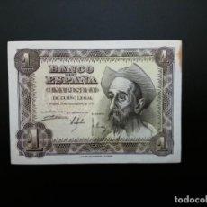 Billetes españoles: BILLETE DE 1 PTA DE 1951... PRECIOSO .....ES EL DE LAS FOTOS. Lote 194579012