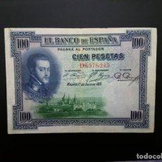 Billetes españoles: BILLETE DE 100 PTAS DE 1925 . .....ES EL DE LAS FOTOS. Lote 194580593