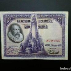Billetes españoles: BILLETE DE 100 PTAS DE 1928.. . .....ES EL DE LAS FOTOS. Lote 194580838