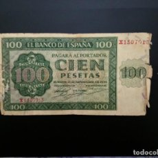 Billetes españoles: BILLETE DE 100 PTAS DE 1936 .. . .....ES EL DE LAS FOTOS. Lote 194580981