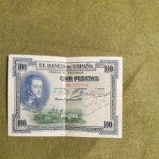 Billetes españoles: BILLETE CIEN PESETAS AÑO 1925. Lote 194616776