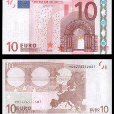 Billetes españoles: ESPAÑA, 10 EUROS 2002 1ª FIRMA DUISENBERG S/C. Lote 194703293