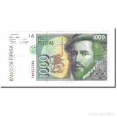 Billetes españoles: BILLETE, 1000 PESETAS, 1992, ESPAÑA, 1992-10-12, KM:163, EBC. Lote 194767476