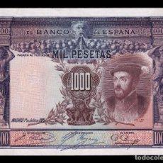 Billetes españoles: ESPAÑA SPAIN 1000 PESETAS CARLOS I 1925 PICK 70C EBC XF. Lote 194771272