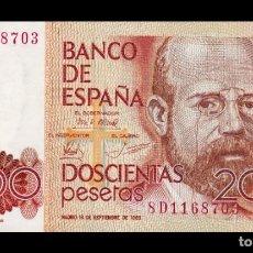 Billetes españoles: ESPAÑA SPAIN 200 PESETAS LEOPOLDO ALAS CLARÍN 1980 PICK 156 SERIE ESPECIAL 8D SC UNC . Lote 194776011