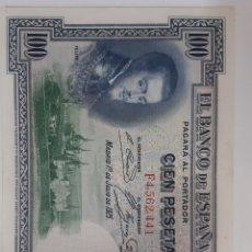 Billetes españoles: BILLETE CIEN PESETAS 1925. Lote 194782186
