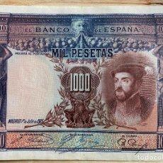 Billetes españoles: BILLETE DE 1000 PESETAS 1925 SIN SERIE EN BUEN ESTADO. Lote 194905400