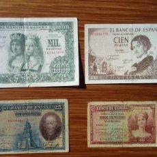 Billetes españoles: ESPAÑA BILLETES VARIOS. Lote 194987003