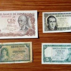 Billetes españoles: ESPAÑA BILLETES VARIOS. Lote 194987056