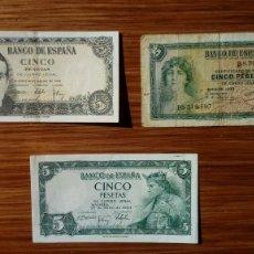 Billetes españoles: ESPAÑA BILLETES VARIOS. Lote 194987117