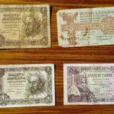 Billetes españoles: ESPAÑA BILLETES VARIOS. Lote 194987183
