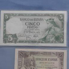 Billetes españoles: BILETES ESPAÑOLA. Lote 194994463