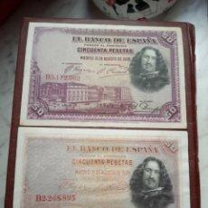 Billetes españoles: ERROR VARIANTE DE COLOR. Lote 195025811