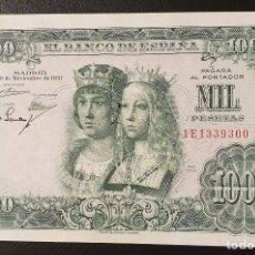 Billetes españoles: BILLETE 1000 PESETAS 1957 REYES CATOLICOS. Lote 195025935
