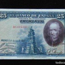 Billetes españoles: ESPAÑA BILLETE DE 25 PESETAS 1928 -BONITO-. Lote 195303007