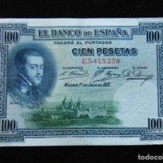 Billetes españoles: ESPAÑA BILLETE DE 100 PESETAS 1925 -BONITO-. Lote 195303191