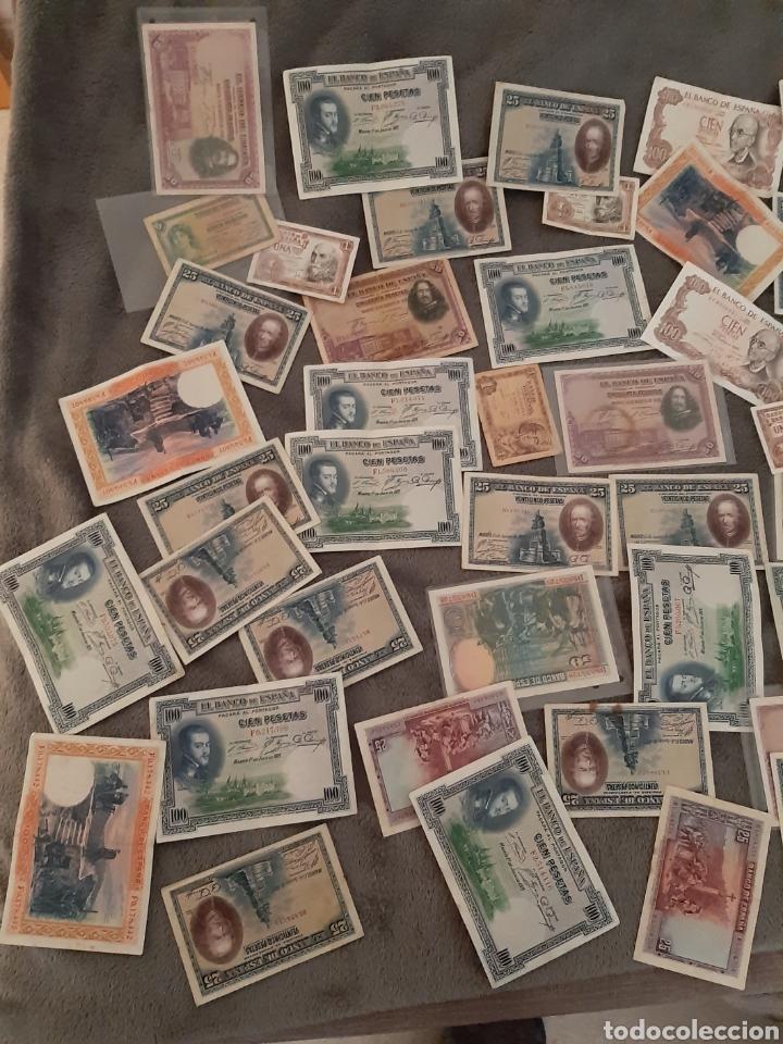 Billetes españoles: Billetes españolas - Foto 3 - 195305193