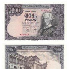Billetes españoles: 5000 PESETAS 1976 SIN CIRCULAR PLANCHA. Lote 195310736