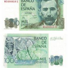 Billetes españoles: 1000 PESETAS 1979 SIN CIRCULAR PLANCHA. Lote 195313467