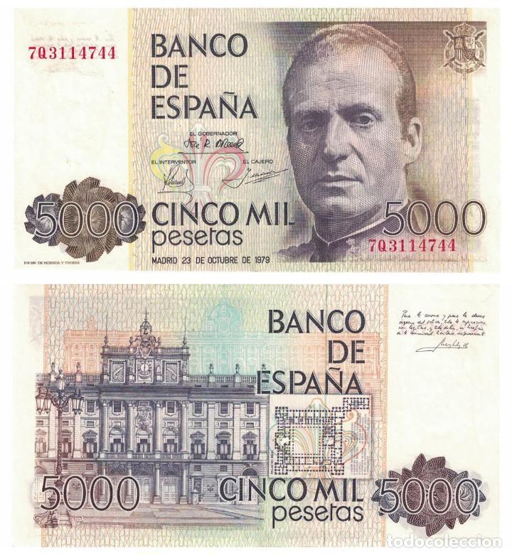 5000 PESETAS 1979 SIN CIRCULAR PLANCHA (Numismática - Notafilia - Billetes Españoles)