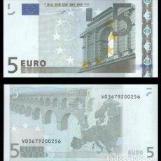 Billetes españoles: ESPAÑA 5 EUROS 2002 1ª FIRMA DUISENBERG S/C. Lote 195329038