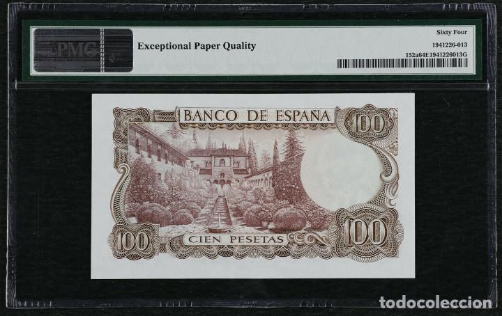 Billetes españoles: 1970 España Banco de España 100 Pesetas Pick 152a PMG 64 EPQ Sin Circular - Foto 2 - 195367587