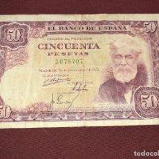 Billetes españoles: 50 PESETAS DE 1951. Lote 195415723