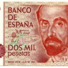 Billetes españoles: 2000 PESETAS 1980 SERIE ESPECIAL 9A, SIN CIRCULAR/PLANCHA. Lote 195437012