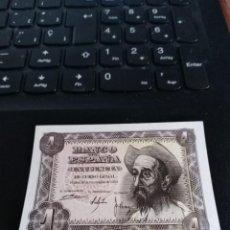 Billetes españoles: BILLETE DE 1 PESETA EMISIÓN 19 NOVIEMBRE 1951 SERIE B SIN CIRCULAR. Lote 195447816
