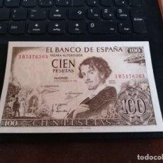 Billetes españoles: BILLETE DE 100 PESETAS EMISIÓN 19 NOVIEMBRE 1965 SERIE 1H SIN CIRCULAR. Lote 195448063