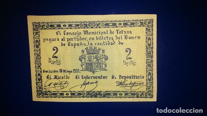 EL CONSEJO MINICIPAL DE TOTANA. (MURCIA) (Numismática - Notafilia - Billetes Españoles)
