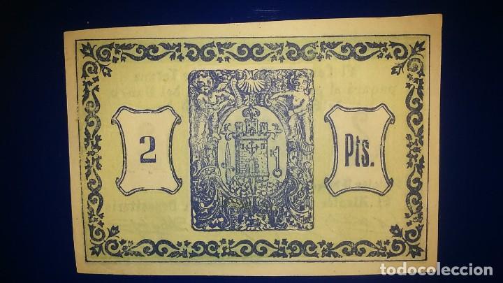 Billetes españoles: EL CONSEJO MINICIPAL DE TOTANA. (MURCIA) - Foto 2 - 195479350