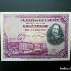Billetes españoles: BILLETE DE 50 PTAS DE 1928 .. .. .. ..ES EL DE LAS FOTOS. Lote 195516867