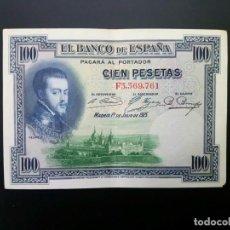 Billetes españoles: BILLETE DE 100 PTAS DE 1925 .. .. .. ..ES EL DE LAS FOTOS. Lote 195516998