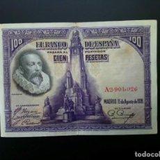 Billetes españoles: BILLETE DE 100 PTAS DE 1928 .. .. .. ..ES EL DE LAS FOTOS. Lote 195517057