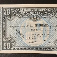 Billetes españoles: BILLETE 50 PESETAS 1937 BILBAO . Lote 195526146