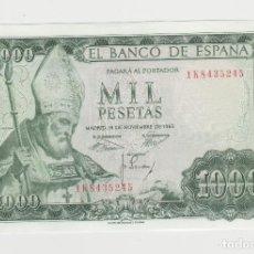 Billetes españoles: 1000 PESETAS- 19 DE NOVIEMBRE DE 1965 -SIN CIRCULAR. Lote 195783003