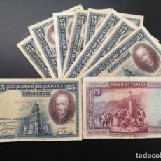 Billetes españoles: BILLETE 25 PESETAS 1928 ALFONSO XIII VF+ A F-. Lote 196535337
