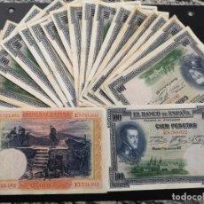 Billetes españoles: BILLETE 100 PESETAS 1925 ALFONSO XIII XF- A F-. Lote 196535855
