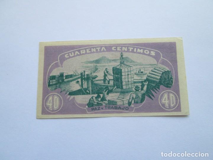 Billetes españoles: BILLETE * CONSEJO DE ASTURIAS Y LEON * 40 CENTIMOS * S/C - Foto 2 - 197053495