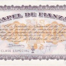 Banconote spagnole: PAPEL DE FINANZAS DE 1000 PESETAS DEL INSTITUTO NACIONAL DE VIVIENDA DEL AÑO 1973. Lote 197390133