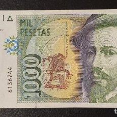 Billetes españoles: BILLETE 1000 PESETAS 1992 HERNAN CORTES SIN SERIE . Lote 198123615
