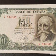 Billetes españoles: BILLETE 1000 PESETAS 1971 ECHEGARAY. Lote 198186992