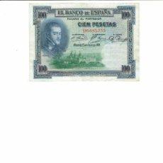Billetes españoles: 1 BILLETE DE 100 PTS FELIPE II, 1925. Lote 198469377