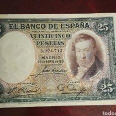 Billetes españoles: BILLETE ANTIGUO DE 25 PESETAS 1931 BANCO DE ESPAÑA. Lote 198719223