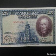 Billetes españoles: BILLETE DE 25 PTAS DE 1928 .. . .. ..ES EL DE LAS FOTOS. Lote 198913140